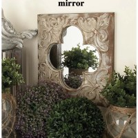 Cole & Grey 3 Piece Metal, Wood and Mirror Wall Decor Set ...