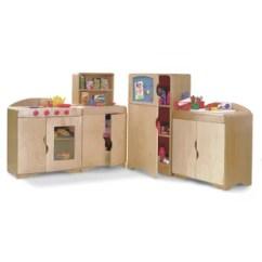 Corner Hutch Kitchen Thermador Package For Wayfair Childcraft Deluxe Set