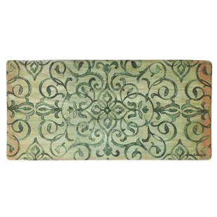 green kitchen mat appliances mats you ll love wayfair quickview cream