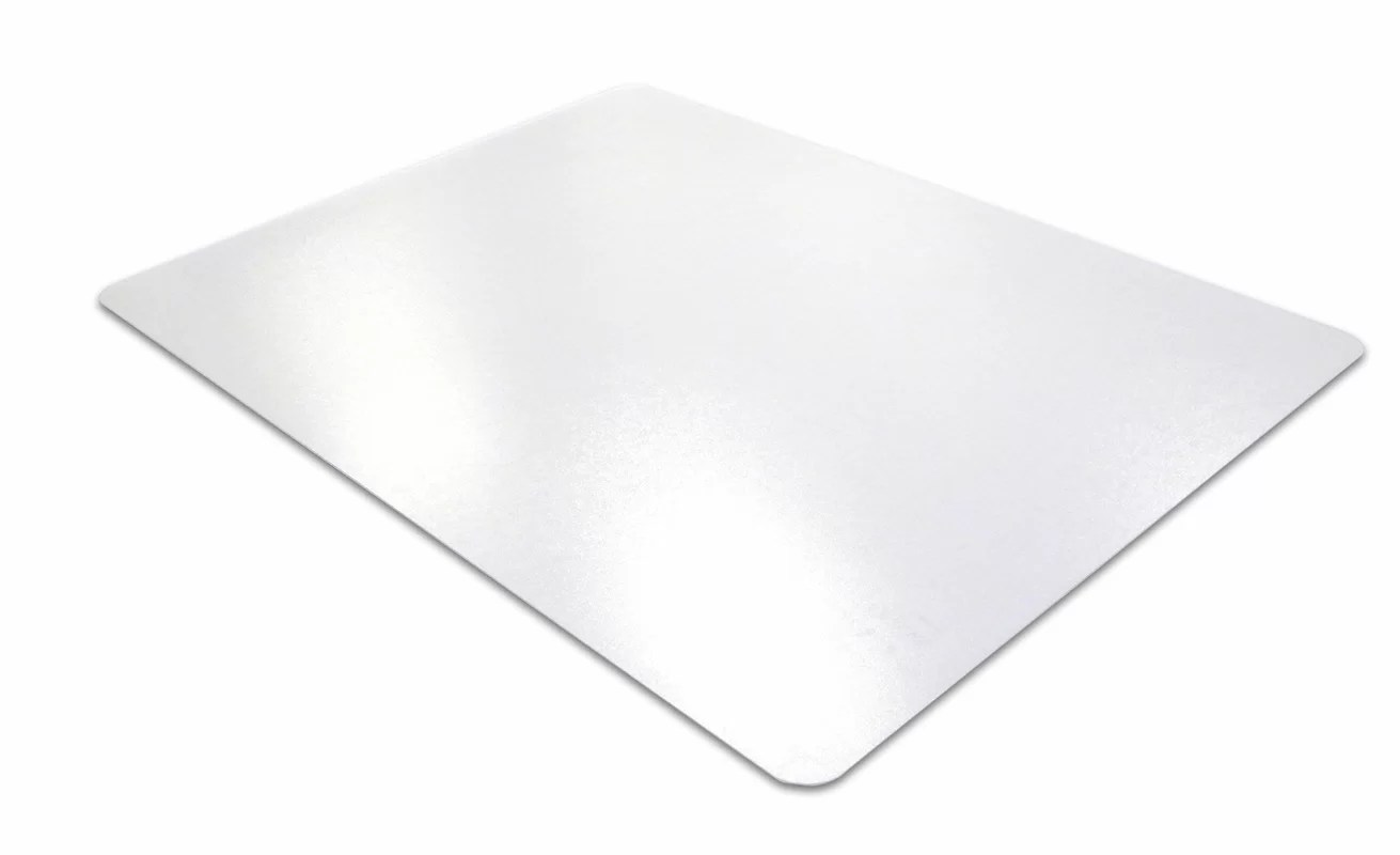 desk chair mat for high pile carpet corner chaise lounge floortex cleartex straight