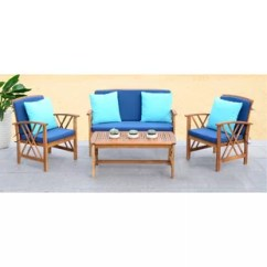 Turquoise Patio Chairs Zebra Wood Chair Outdoor Furniture Wayfair Quickview