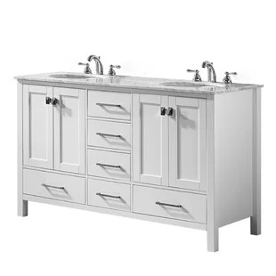 "modern 56"" - 60"" bathroom vanities"