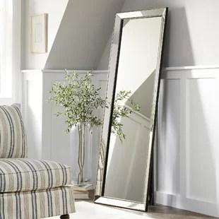 full length mirror in living room sears floor mirrors birch lane carlton