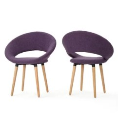 Purple Upholstered Dining Chairs Accent Wingback Kitchen You Ll Love Wayfair Quickview