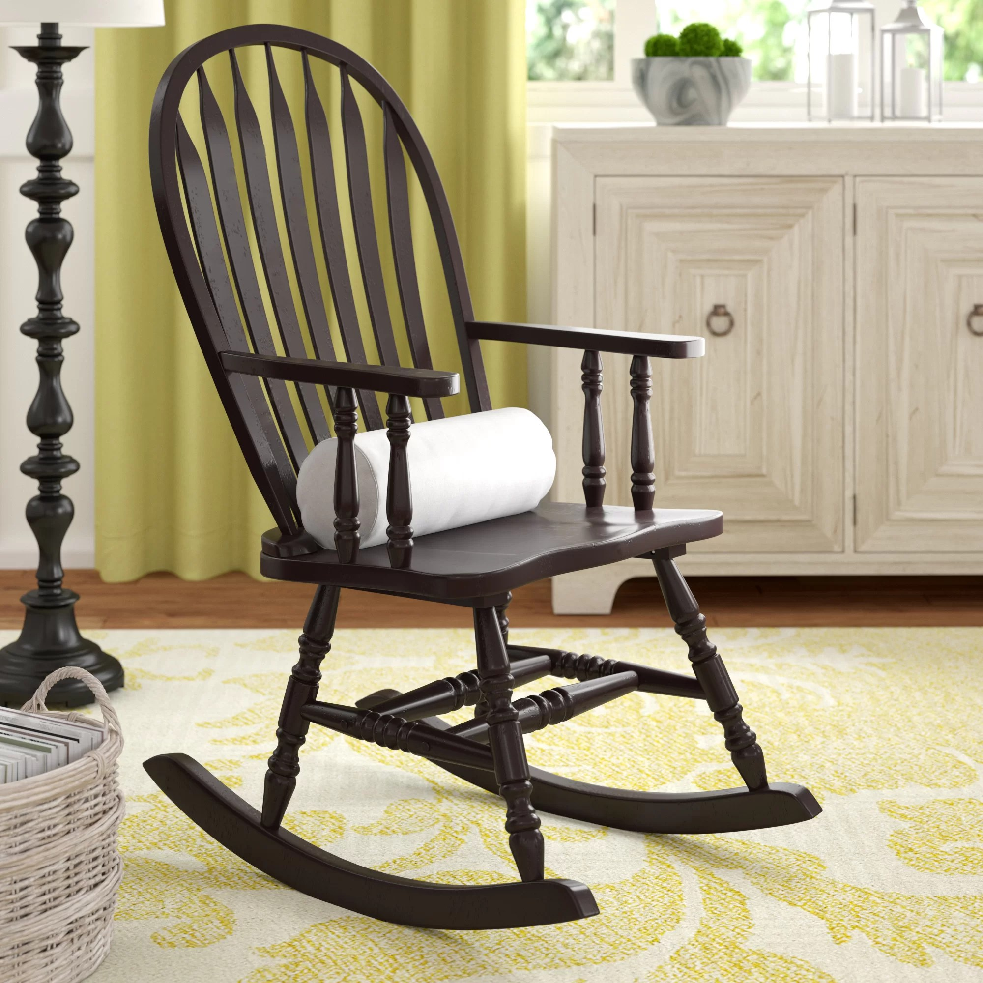 chair with arms 2 seater lawn darby home co silverman rocking reviews wayfair
