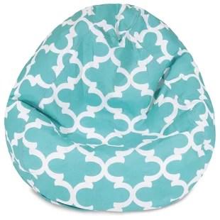 teal bean bag chair maple rocking chairs you ll love wayfair quickview