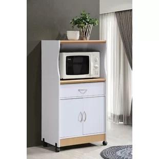modern kitchen cart stainless steel aid mixer islands carts you ll love wayfair ca contemporary