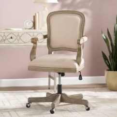 Swivel Office Chair With Wheels Single Leather Recliner Chairs Desk Birch Lane Quickview