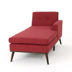 Red Chaise Lounge Chair Cover Sashes Wholesale Uk Chairs You Ll Love Wayfair Quickview