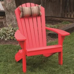 Red Adirondack Chairs Outdoor Chair And Ottoman Cushion Sets Birch Lane Quickview