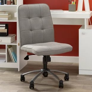 tufted desk chair folding adirondack design chairs you ll love wayfair almanzar task