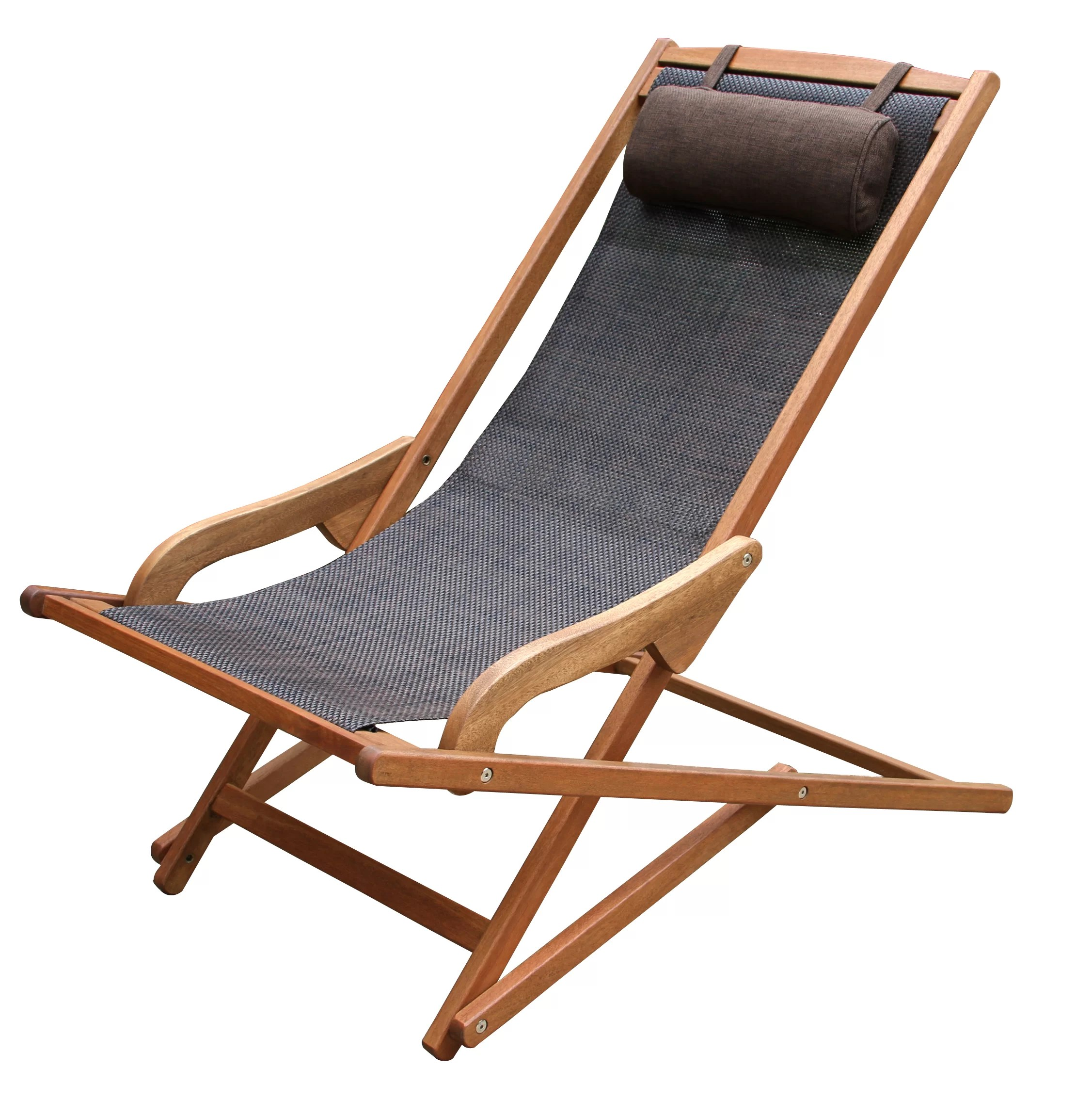 Folding Wood Beach Chair Roseland Folding Beach Chair