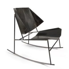 Metal Rocking Chair Runners That Hangs From Ceiling Modern Gliders Chairs Allmodern Terra