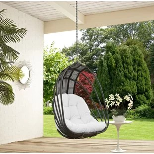 hanging chair big w cover hire lowestoft hammock chairs swing you ll love wayfair whisk