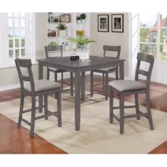 Kitchen Dining Set Storage Rack Grey Room Sets You Ll Love Wayfair Henderson 5 Piece Counter Height