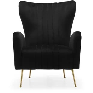 black velvet chair round lounge chairs for bedroom wayfair quickview