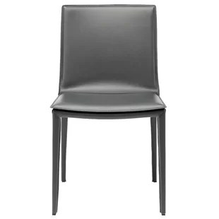 all modern leather dining chairs toddler wooden rocking chair contemporary grey allmodern quickview