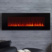 Real Flame DiNatale Wall Mounted Electric Fireplace ...