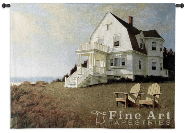 Pure Country Weavers Oceanfront View Tapestry &