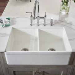 Drop In Farmhouse Kitchen Sinks Outdoor Ideas On A Budget Apron You Ll Love Wayfair Quickview