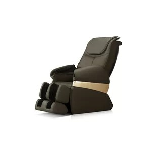 leather recliner chairs mint accent chair real wayfair icomfort reclining massage