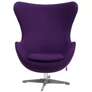swivel club chair target counter chairs modern allmodern balloon