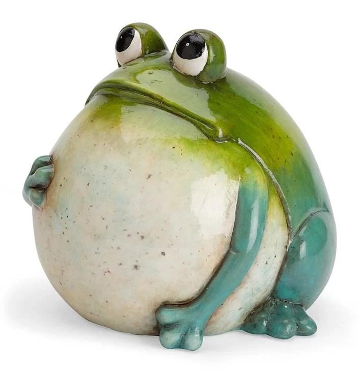 Wind  Weather Big Belly Ceramic Frog Statue  Reviews  Wayfair