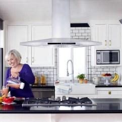 Island Kitchen Hood Vent Cosmo 36 900 Cfm Ducted Range Reviews Wayfair Ca