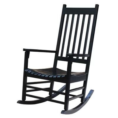 Black Rocking Chairs Youll Love  Wayfair