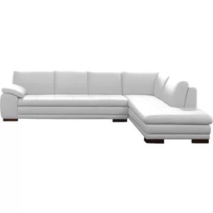 cream full leather chaise sectional sofa recliner covers ebay modern contemporary allmodern quickview