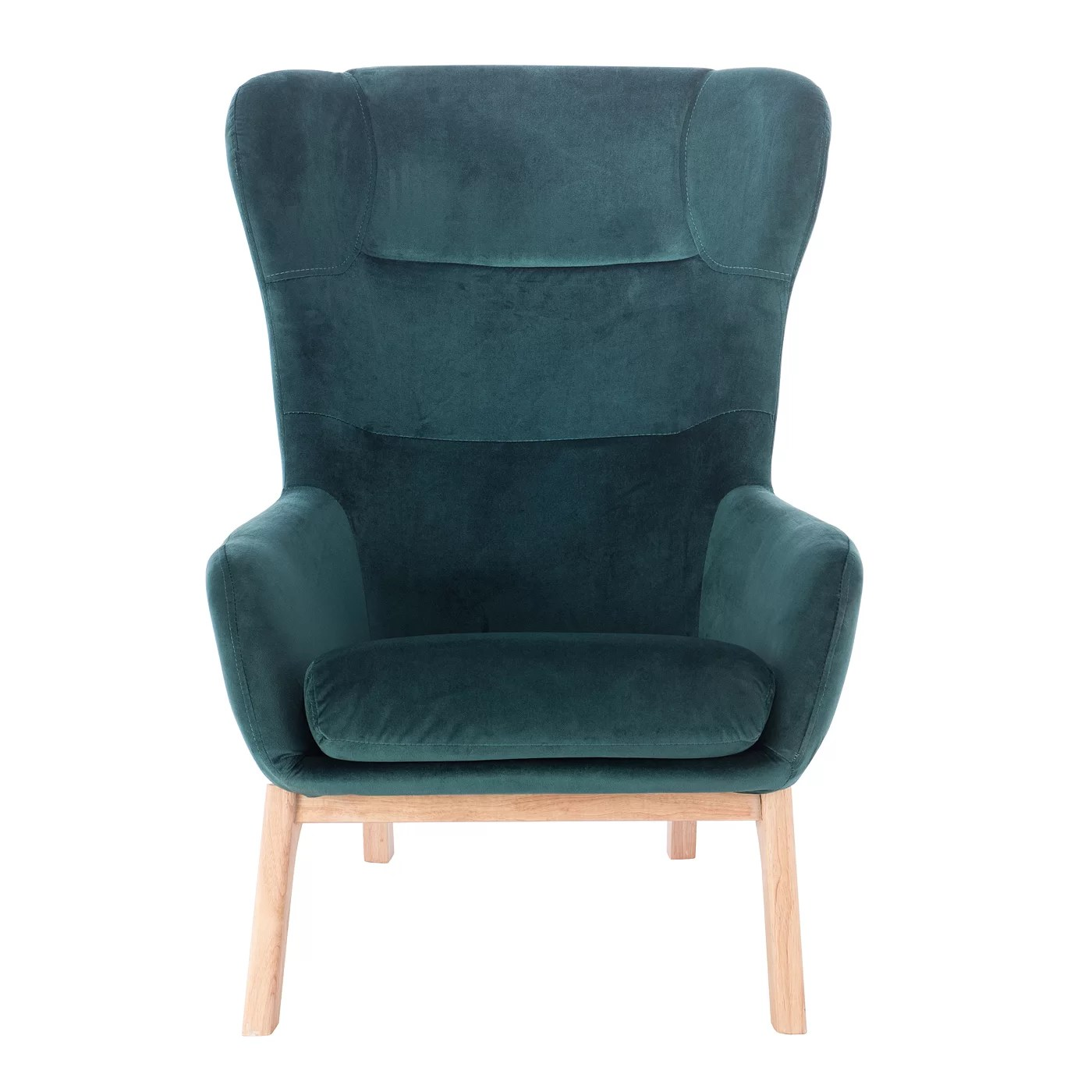 Teal Wingback Chair Eslov Wingback Chair