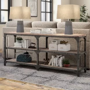 living room console small bedroom ideas sofa and entryway tables you ll love wayfair neligh table