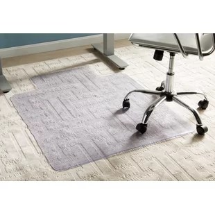 carpet chair mats chairs for small living rooms you ll love wayfair basics office low pile straight mat