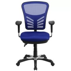 Desk Chair Blue Leather Corner Chairs You Ll Love Wayfair Billups Ergonomic Mesh Task
