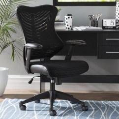 Office Chair Mesh Seven Seas Zipcode Design Heath Desk Reviews Wayfair