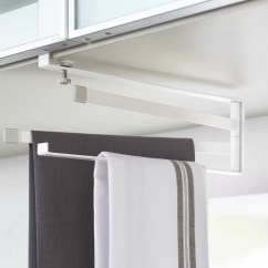 Kitchen Towel Bars Cabinet Makeover Kit Yamazaki Usa Plate Under Shelf Dish Rack Wayfair
