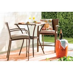 3 Piece Outdoor Table And Chairs Swing Egg Chair Metal Furniture Birch Lane Quickview