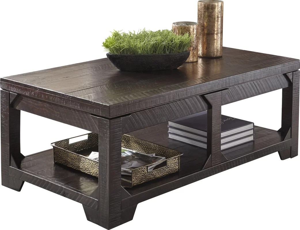 World Menagerie Skylar Lift Top Coffee Table Amp Reviews