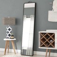 Latitude Run Modern Floor Leaning Full Length Mirror