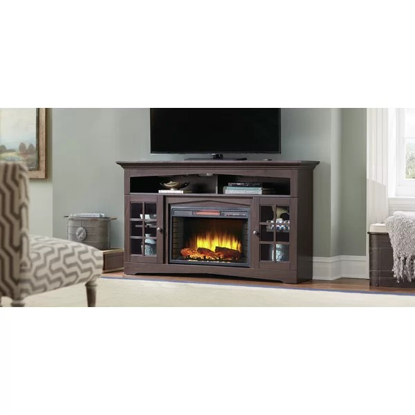Muskoka Huntley 59 TV Stand With Fireplace Amp Reviews