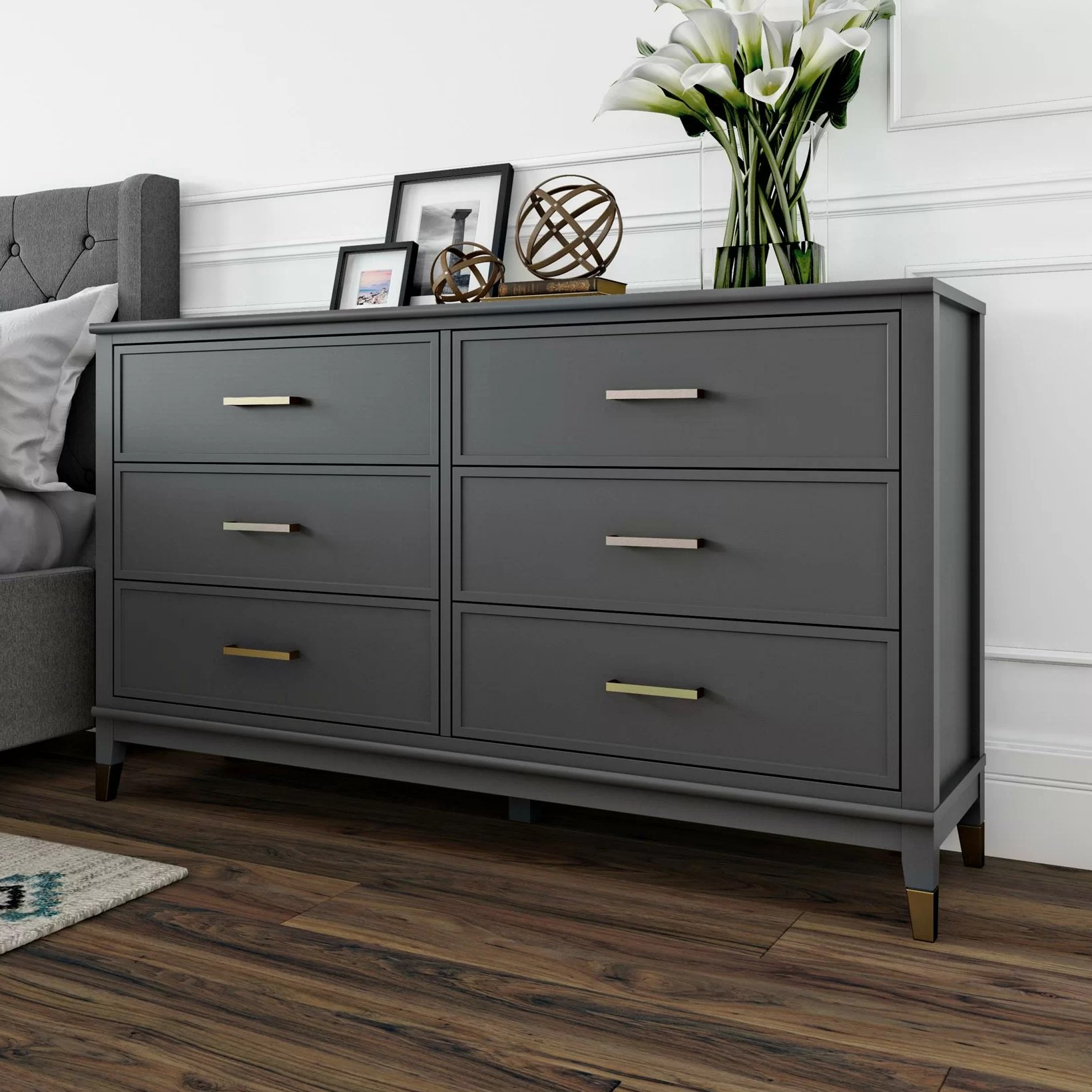 westerleigh 6 drawer double