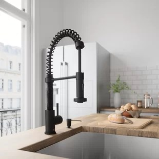 kitchen sink faucets macys table you ll love wayfair quickview