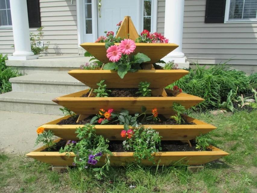 InfiniteCedar 4 Ft X 4 Ft Cedar Vertical Garden Amp Reviews