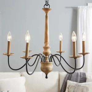 Edson 6 Light Candle Style Chandelier