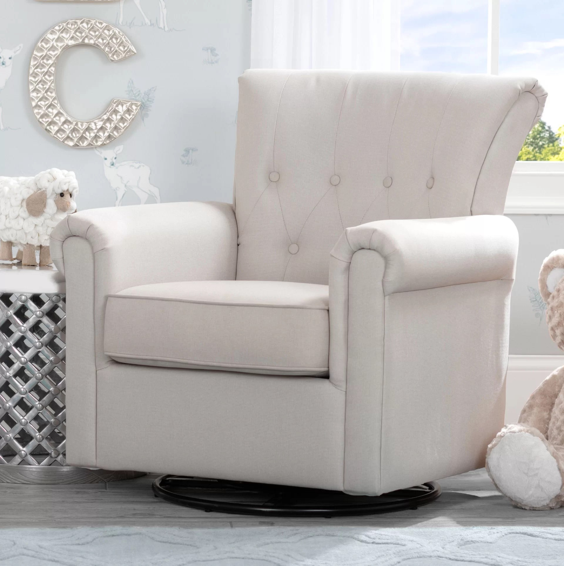 Swivel Rocking Chairs Harper Nursery Swivel Glider