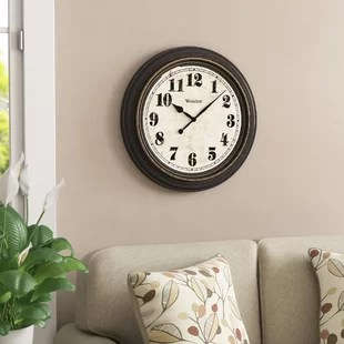 wall pictures living room decorating indian clocks birch lane mabery oversized clock