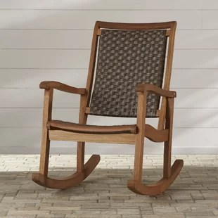 outdoor rocking chairs office mesh chair patio gliders you ll love wayfair quickview