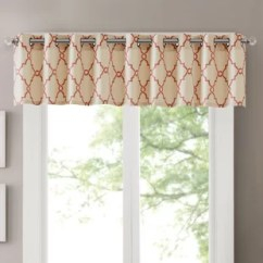 Red Kitchen Valance Ideas For Kitchens Valances Curtains You Ll Love Wayfair Quickview