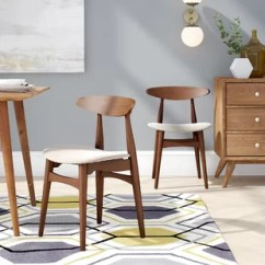 Beige Dining Chairs Kingpin Folding Chair Canada Faux Leather Kitchen You Ll Love Wayfair Quickview