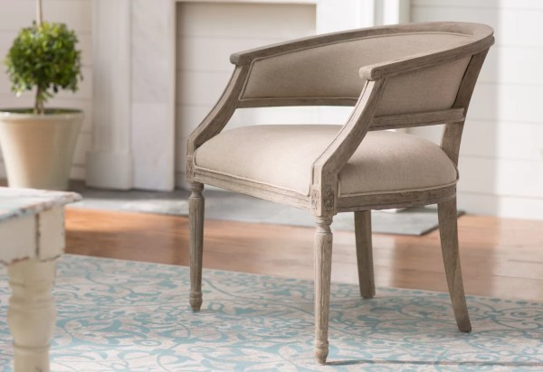 Outen Upholstered Barrel Chair & Birch Lane